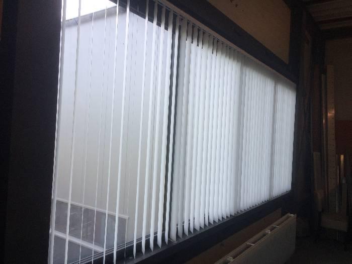 Wij hebben verticale lamellen verkocht en geplaatst in Rijssen